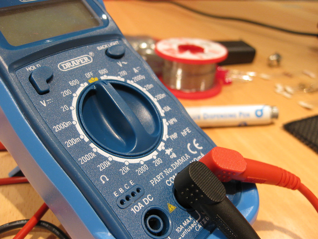 multimetro para electronica